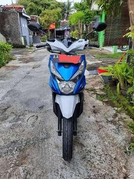 Jual Honda Beat 2017 warna Biru-putih