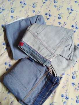 Jeans and shirts @ 200