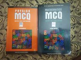 Physics and Maths - IIT JEE - MCQ Books