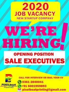 sales & marketing job