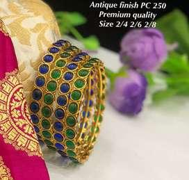 Sarees.ornaments.bangles