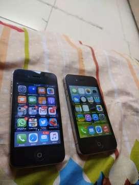 I phone 4s and I phone 4 working