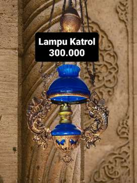 Lampu Gantung Antik Klasik Hias Joglo Gebyok cafe