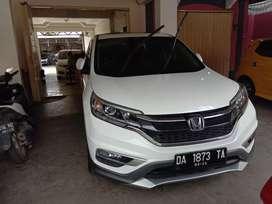 Honda CR-V prestige 2.4 tahun 2015 warna putih