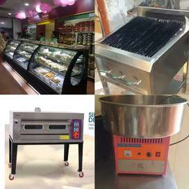 Pizza oven equipment bakery counter char caol grill fast food dep fryr