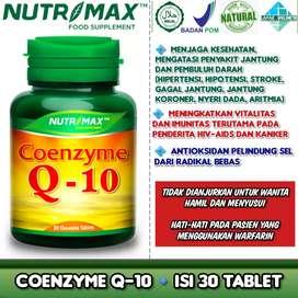 Nutrimax Coenzyme Q-10 30 Tablet Membantu Mengatasi Penyakit Jantung