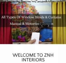 Wireless Curtain System & Blinds Motors