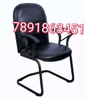 Nye arm black colour library chair with arm