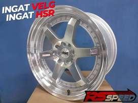 velg r17 veleg racing buat mobil avanza veloz warna silver
