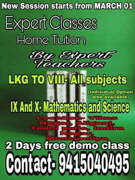 Expert class with expert teacher.
