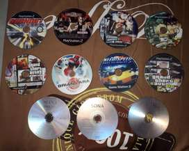 11 CDs of Playstation 2