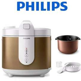 Philips Rice Cooker HD3053 FUZZY Logic (garansi resmi Philips)