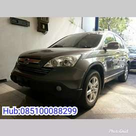 All New CRV 2.4 AT 2008 Silver Stone