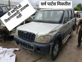 Mahindra Scorpio 2.6 CRDE All part's Available
