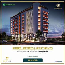Investment Opportunity Shops, Office &Apartments