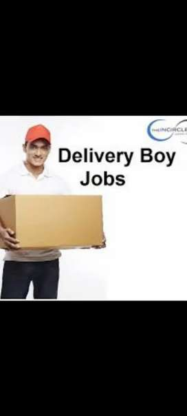 (Urgent hiring in Parsal Delivery for Delivery Boys)