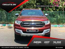 Ford Endeavour 3.2 Titanium AT 4X4, 2017, Diesel