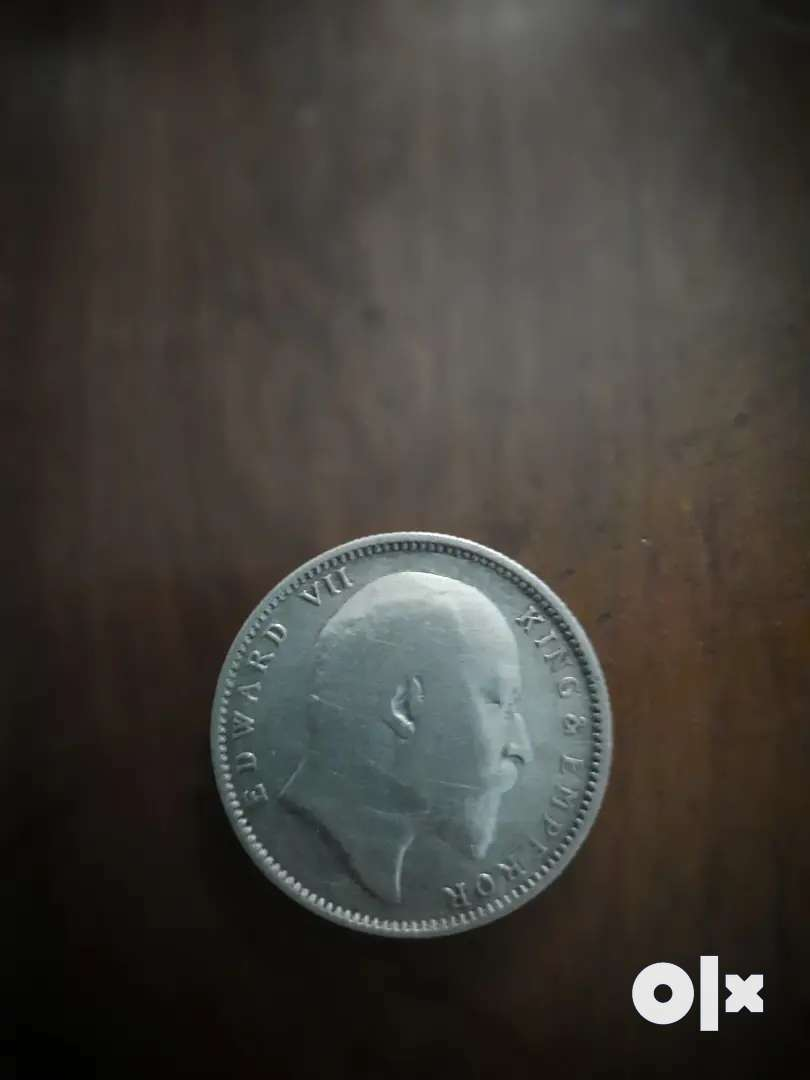 British Rule Indian Silver Coin