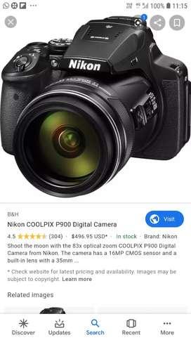 Nikion collpix p900  camera