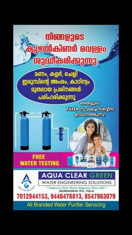 Water filters and water purifiers sales & services