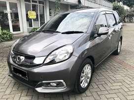 Km 60Rb Mobilio E CVT 1.5 Record Honda, Ac Double & Airbag, Siap Pakai