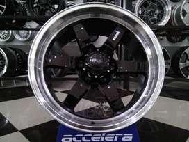 velg racing HSR ring 18 for pajero fortuner H6x139,7