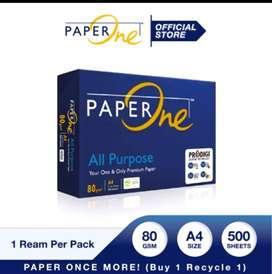 PAPERONE Kertas A4 80gr All Purpose 1 Ream (500 lembar)
