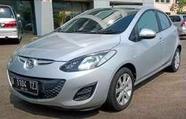 Mazda 2 S matic 2012 Silver Mulus + Halus Siap Pakai