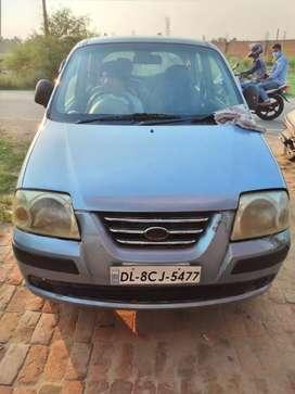 Hyundai Santro 2003 CNG &petrol and good condition