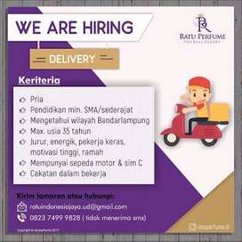 Lowongan delivery
