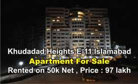 Khudadad Heights E-11 Islamabad , Apartment For Sale