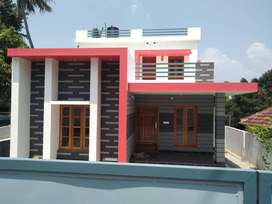 9 cent plot with1750 3BHK house anjalummood