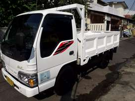 Isuzu ELF NHR light truck engkel 2017 bak 3way orsinil