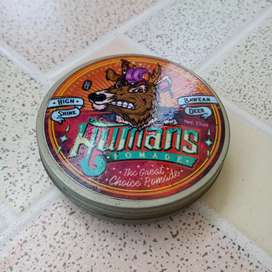 Pomade Oil Based Humans High Shine