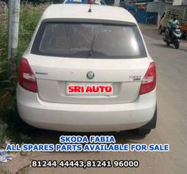 SKODA FABIA ORIGINAL USED ALL SPARE PARTS AVAILABLE FOR SALE