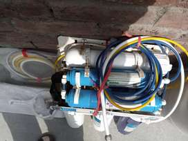 Water filter RO plant