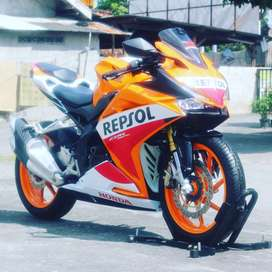Honda new cbr 250 repsol ABS limited Edition odo 1rb  bs TT ninja 250
