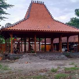 Pendopo Joglo Kayu Jati Uki Tumpangsari, Rumah Joglo Gebyok Ukiran