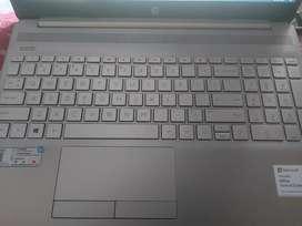 HP LAPTOP silver color