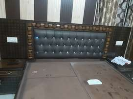 Beautiful home made ,large (7feet length) bed with head board