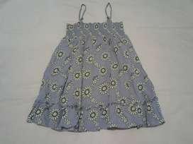 Prelove Dress Birds & Bees size umur 5 tahun