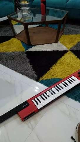 Yamaha Shs 500 Sonogenic (keytar) - Merah (Baru sekali pakai)