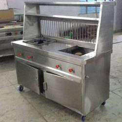 Brand new 2 burner fast food 2 years warranty stel counter