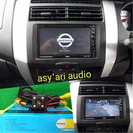 Paket head unit TV buat mobil Nissan