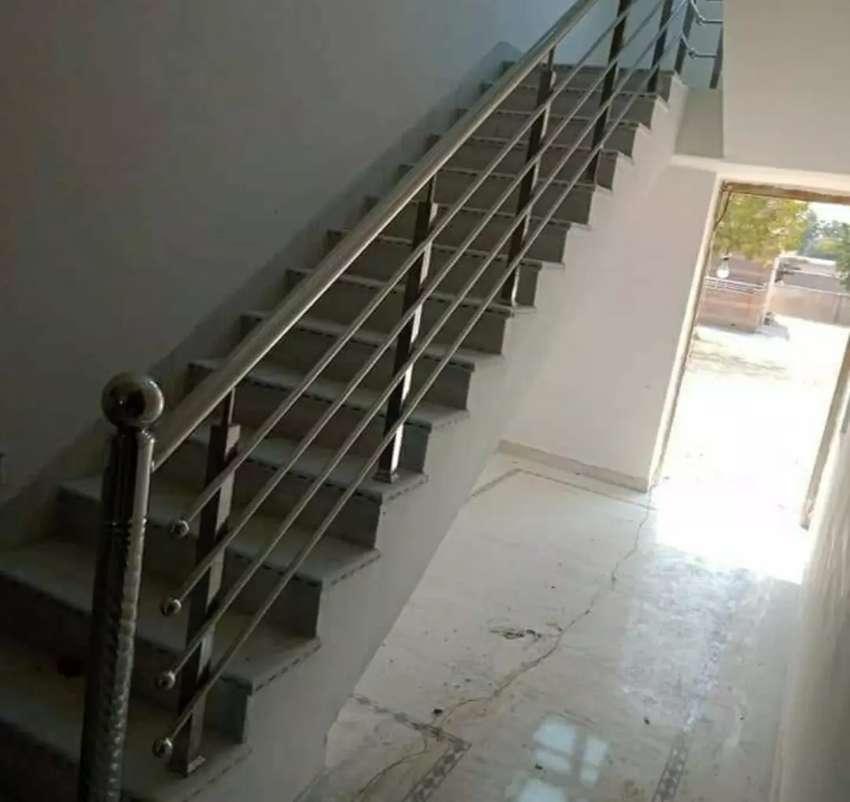 Reling tangga stainless dan balkon stenlis steel #1754