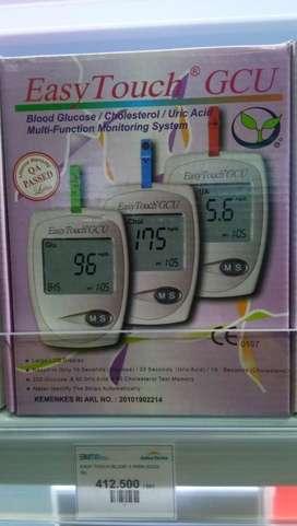 Easy Tocuh Gula Darah kolestrol dan asam urat