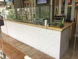 Jual Meja Salad Bar, Kitchen Sink, Furniture Cafe