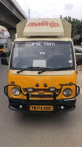 Tata mega xl  and tata ace closed body for rent with driver