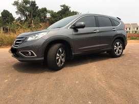 Honda CRV 2.4 2012 AT dark gray metallic