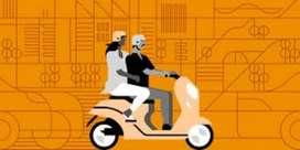 Uber moto bikers